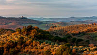 Tuscan Landscape in the Morning, Italy