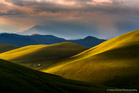 Campo Imperatore in morning light