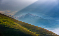 Castelluccio in first morning light
