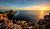Neist Point at sunset