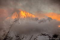 First light on Marmolada